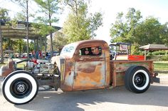 37 Chevy Truck Rat Rod