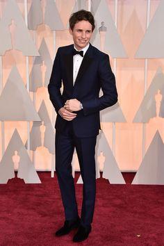 Eddie Redmayne's Oscars 2015 Red Carpet Look