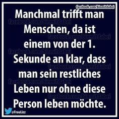 MANCHMAL TRIFFT MAN MENSCHEN...