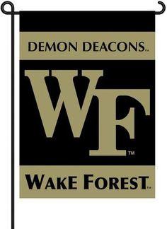 Double Sided Wake Forest University Garden Flag