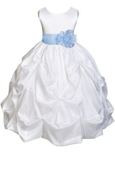 AMJ Dresses Inc Girls White/sky Blue Flower Girl Pageant Dress Size 2 AMJ Dresses Inc,http://www.amazon.com/dp/B00B4KNMGE/ref=cm_sw_r_pi_dp_9v.Etb1VW0KHEWDK