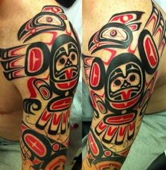 HAIDA SLEEVE tattoo - Google Search