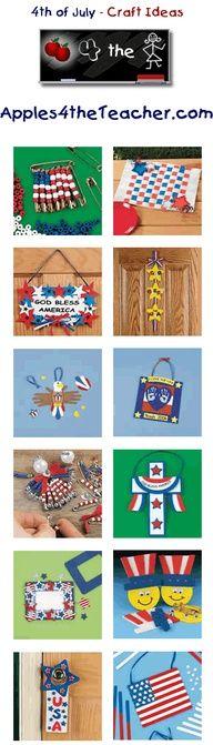 children's crafts 4th of july