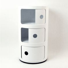 This would be cute for the baby's room -Futuristic Storage Cabinet | dotandbo.com