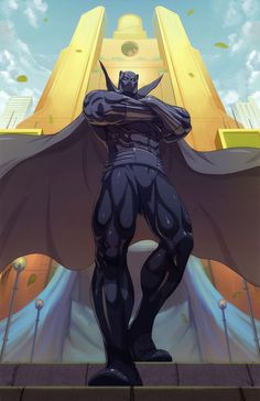 Black panther Comision by Brolo.deviantart.com