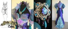 Odessa the Sea Witch design by Lillyxandra.deviantart.com on @deviantART .... .... such a talented artist! ... luv her many designs! .... ....