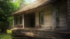 (The Old Harding Cabin, Belle Meade Plantation) To Whisper Her Name By T...
