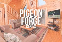 Is your vacation in this location? Take a look at our Pigeon Forge Cabins to stay close to your fun in town! | Featured Cabin: Sky Surfer