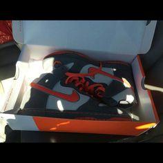 Nike SB Dunk Hi x Staple Sneaker BRAND NEW WITH BOX. Nike SB Dunk Hi x Staple sneakers SIZE 9 Womens/ 7.5 Men. Nike Shoes