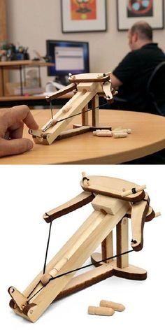 Come on, who wouldn't want a personal catapult of their own sitting on their…