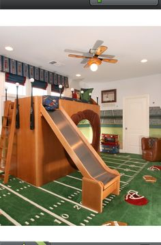 Kids football room