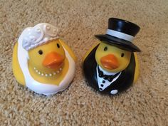 Rubber Duck Ducks Ducky Duckies Lot Bride Groom Wedding New | eBay