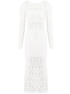 Vestido Open Back Crochet - LILLY SARTI -  LILLY SARTI                     $ 3962,00