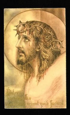"""""""Look at His Adorable Face. Look at His glazed and sunken eyes. Look at His wounds. Look Jesus in the Face. There, you will see how much He loves us."""" - St. Therese of the Child Jesus"""