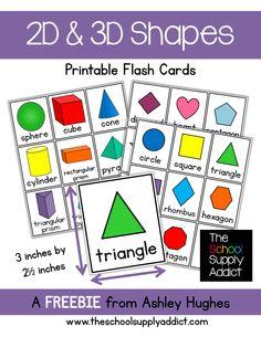 Flash Cards_2D & 3D Shapes