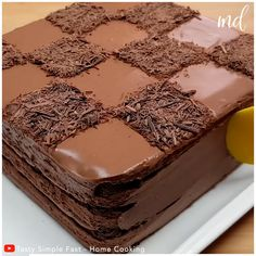 Fun Baking Recipes, Easy Cake Recipes, Sweet Recipes, Chocolate Cake Recipe Easy, Flourless Chocolate Cakes, Delicious Desserts, Yummy Food, Indian Dessert Recipes, Cake Cooking Videos