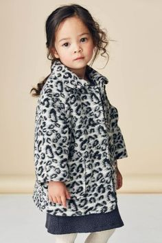 Leopard Jacket (3mths-6yrs) from Next
