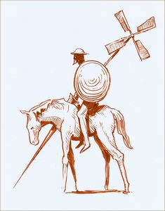 Don Quixote by NegativeFeedback.deviantart.com on @deviantART