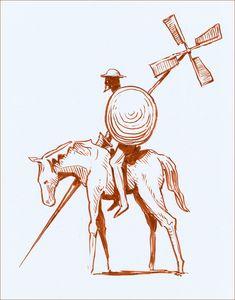 Don Quixote by NegativeFeedback.deviantart.com on @deviantART