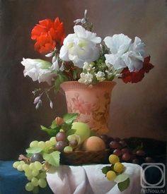 Sevryukov Dmitry.  Flores, frutas