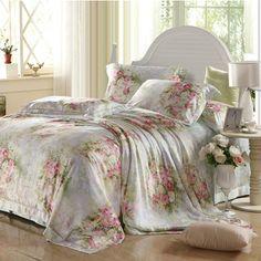 100% seda 1000tc tencel tecido luxuoso 4pc jogo de cama queen king lençóis adulto meninas edredon/edredões lenç&...