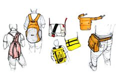 ID Sketching 2011-12 by Victoria Spriggs, via Behance