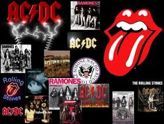 Some of my favorite 80's Rock Bands - Rock On!