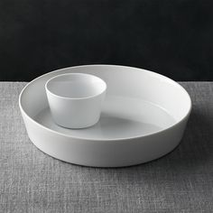 2-Piece Chip and Dip Set   Crate and Barrel