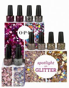 OPI Spotlight on Glitter Display