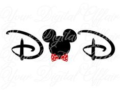 Dad Minnie Mouse Disney Printable DIY Iron On by YourDigitalAffair, $3.00