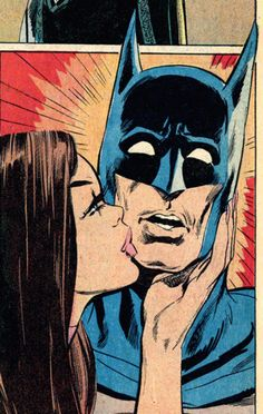 Batman and Talia, art by Neal Adams Pop Art Vintage, Retro Art, Bd Comics, Comics Girls, Bd Pop Art, Comics Vintage, Retro Kunst, Talia Al Ghul, Japon Illustration