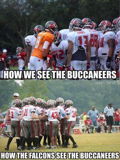 The Poor Buccaneers…