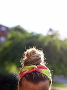 The Pretty Life Girls: PLA DIY: Tie-Dyed T-Shirt Headbands