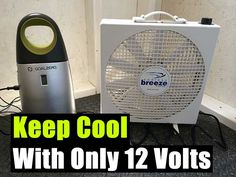 Keep Cool With Only 12 Volts - SHTF, Emergency Preparedness, Survival Prepping, Homesteading