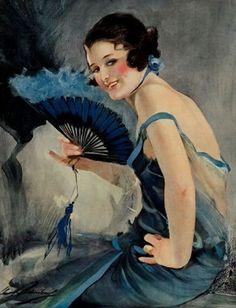 William Henry Barribal | Vintage Art Déco painter | Tutt'Art@ | Pittura * Scultura * Poesia * Musica |