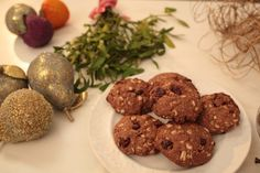 Cinnamon and Cranberry Cookies |