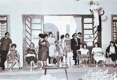 Iraq, Baghdad, Ahali waiting for their children in a kindergarten in the Private School Adil, in the 1960s.