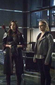 Nyssa and Felicity