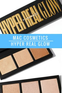 MAC HYPER REAL GLOW FACE PALETTES | Kate Loves Makeup