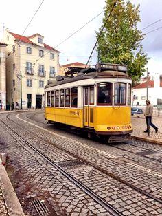 The symbol of Lisbon #tram #lisbon #lisboa