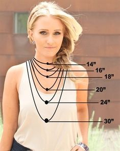 Jewelry Sizing Guide More More #JewelryTips