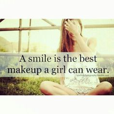 Smile smile smile ♡  #quote #smile #inspirational #laugh   #makeup - @shan___shan- #webstagram