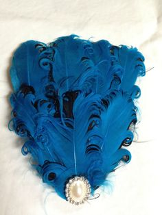 Curly Feathers for Hair by crewofhall1 on Etsy, $10.00