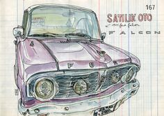 ford falcon by lapin barcelona, via Flickr