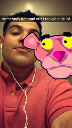 Pink Panther #snapchat #beezyhater Snapchat Drawings