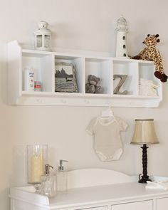 This wall-mounted storage unit is a great solution to help cut down clutter in your child's room. It has a compact design, so is an ideal option even where space is tight, but still offers very practical storage for toys, clothes and other items with five storage compartments and five hanging pegs. Only £89!