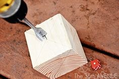 Wood Dice Tutorial...