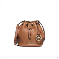 Michael Kors small bucket bag Michael Kors small drawstring bucket purse. Made of pebble leather.  Measures approx 7x7x3. Brand new with tags. PRICE IS FIRM!  Michael Kors Bags