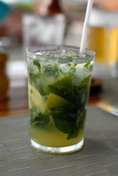 Costa Rican Basil Mojito and other local cocktails | Boulder Locavore