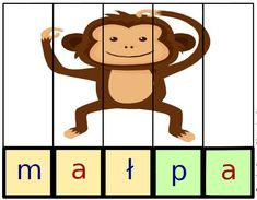 puzzle do nauki czytania Puzzles, Back To School, Mario, Homeschool, Education, Fictional Characters, Montessori, Speech Language Therapy, Therapy